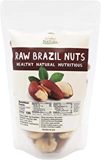 Beyond Nature, Superior to Organic Raw Brazil Nuts 12 oz Pack