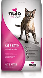 Nulo Adult & Kitten Dry Cat Food - Grain Free, Small Size Kibble Pieces