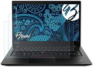 Bruni Beschermfolie compatibel met Lenovo ThinkPad T14s Folie, zonneklaar Schermfolie (2X)