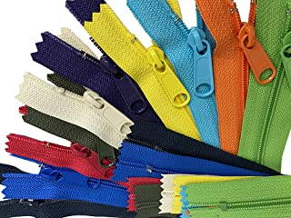 """ZipperStop Distributor YKK ZipperStop Wholesale Authorized Distributor YKK® Sale 14"""" Handbag Zipper Assorted Season Colors..."""