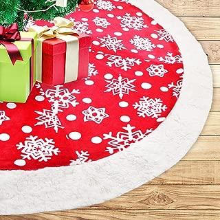 Best velvet christmas tree skirt Reviews