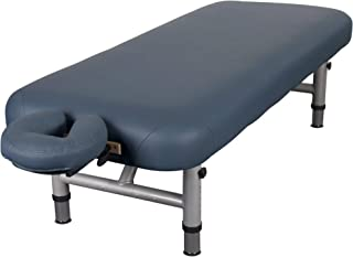 "EARTHLITE Physical Therapy Table YOSEMITE 30 – Extra Wide, Adjustable Low Height (20-26.5"") Aluminum Exam & Massage Table, Face Cradle & Face Pillow (30x73"")"