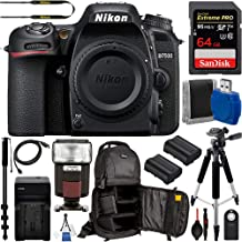 """$899 Get Nikon D7200 DSLR Camera (Body Only #1554) with 15pc Deluxe-Bundle: Includes – SanDisk 64gb Extreme Pro Memory Card, 57"""" Professional Tripod, 72"""" Monopod, Sling Backpack for DSLR Camera, and More"""