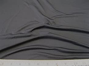 Discount Fabric Polyester Lycra /Spandex 4 way stretch Solid Slate Gray Grey LY855
