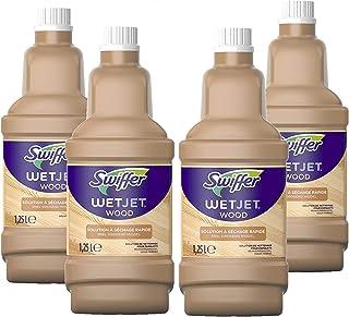 Swiffer Wetjet Wood specialrengöringslösning för träbesättning Spray 1,25 l