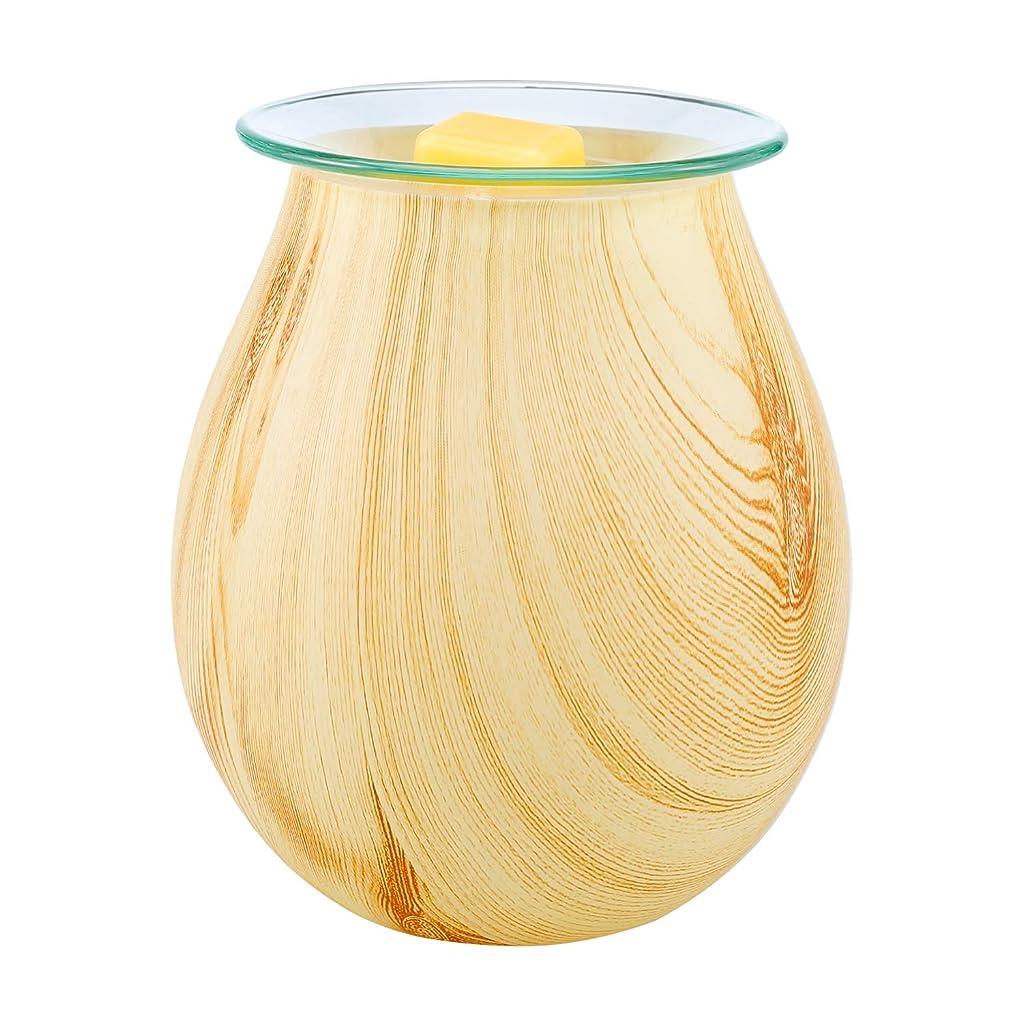添加ヘビー始まりCOOSAカラフルガラスElectric Oil Warmer CandleワックスTart Burner Incense Oil Warmer Fragrance Warmer夜ライトアロマ装飾ランプSuitホームオフィス寝室用リビングルーム