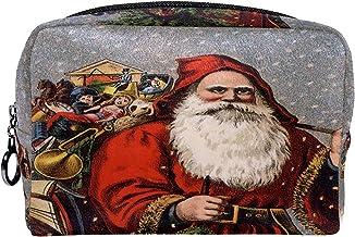 Cosmetische tas make-up tas reizen cosmetische zakje clutch portemonnee toilettas kerst heilige nicholas santa