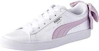 PUMA Women's Basket Bow Sb WN's, White-Winsome Orchid