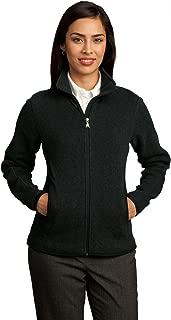red house ladies sweater fleece full zip jacket