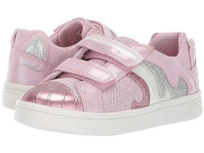 Geox Kids Djrock Girl 20 (Little Kid) (Light Pink) Girl