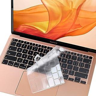 Funda de teclado ultra fina para MacBook Air de 13 pulgadas A2337 M1 Chip A2179, cubierta de teclado para MacBook Air 2020...