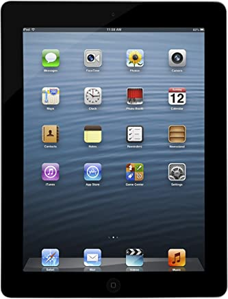 Apple iPad MC707LL/A (64GB, Wi-Fi, Black) 3rd Generation (Renewed)