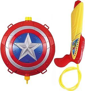 Fashion-house Cute Cartoon Water Gun Backpack Toys for Boys & Girls (2600ml)
