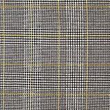 Fabulous Fabrics Jacquard de Punto Príncipe de Gales – Amarillo — Mercancia al Metro a Partir de 0,5m — para Coser de Vestidos, Faldas y Pantalones