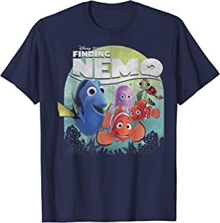 Pixar Finding Nemo Group Shot Poster Graphic T-Shirt