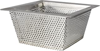 AmGood Commercial Floor Drain Strainer - 304 Stainless Steel 10