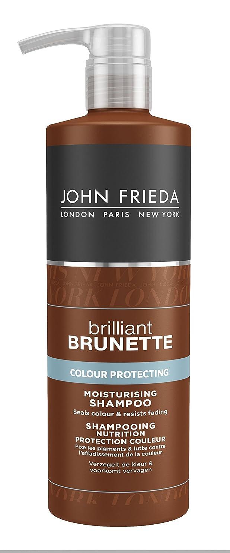 冷笑する気絶させる出撃者John Frieda Brilliant Brunette Colour Protecting Moisturising Shampoo 500ml