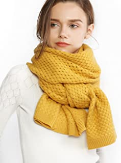 Best yellow knit scarves Reviews