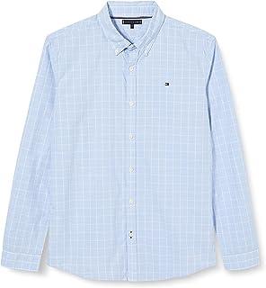 Tommy Hilfiger Window Pane Shirt L/S Camisa para Niños