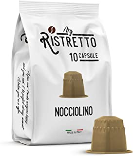 FRHOME - 50 Cápsulas compatibles Nespresso - Avellana - MyRistretto