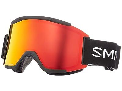 Smith Optics Squad Goggle (Black/Chromapop Everyday Red Mirror/Yellow) Goggles