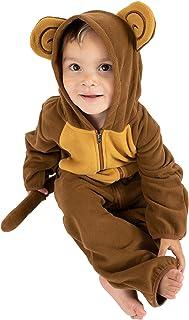 Cuddle Club Mono Polar Bebé para Recién Nacidos a Niños 4 Años - Pijamas Infantiles Chaqueta de Invierno Abrigo Polar Niño...