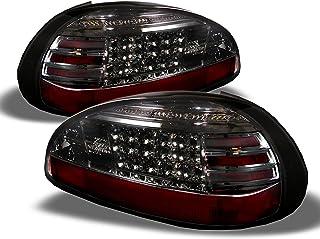 For Ponitac Grand Prix 2 Door 4 Door Rear LED Tail Lights Signal Brake Lamps Pair Smoked Lens