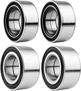 Wheel Bearings for Polaris Ranger RZR 800/ RZR S 800 /RZR 4 800 2010 2012 2013 2014,2pcs Front & 2pcs Rear Wheel Bearings Kit,Replaces Polaris OEM Part # 3514699/3514635