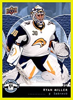 2007-08 UD Upper Deck Mini Jersey Collection #11 Ryan Miller BUFFALO SABRES