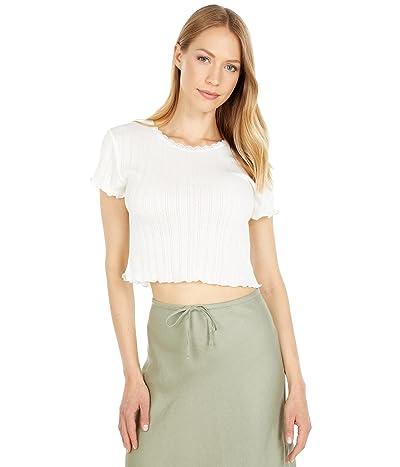 BCBGeneration Pointelle Knit T-Shirt T1TX3T13
