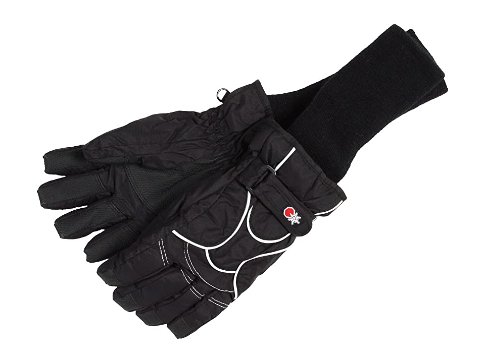 Tundra Boots Kids Snowstoppers Gloves (Black) Extreme Cold Weather Gloves