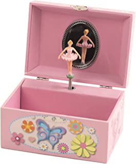 The San Francisco Music Box Company Butterfly Keepsake Musical Jewelry Box