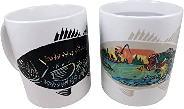 color changing fish mug