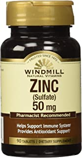 Windmill Zinc Sulfate Tablets, 90 Count