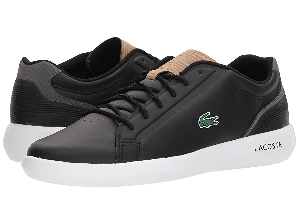 Lacoste Avantor 118 1 (Black/Light Tan) Men