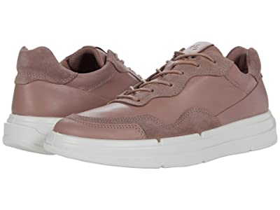ECCO Soft X Sneaker (Woodrose/Woodrose Cow Leather/Calf Suede) Women
