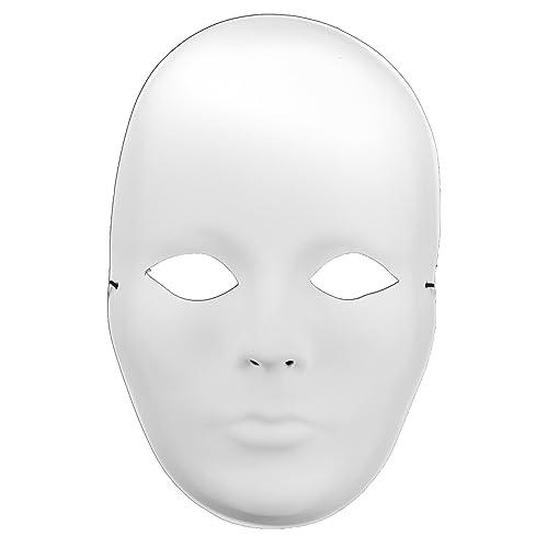 White MaskIt Full Mask Female 9.5-Inch