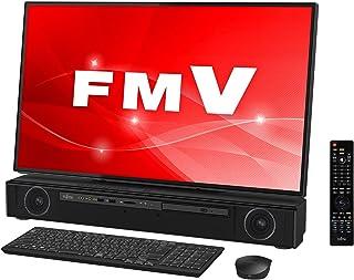 富士通 デスクトップパソコン FMV ESPRIMO FHシリーズ WF2/C3 (Windows 10 Home/27型ワイド4K液晶/Core i7/32GBメモリ/約512GB SSD + 約3TB HDD/Blu-ray Discドライブ/Office Home and Business 2016/オーシャンブラック/テレビ機能付き)AZ_WF2C3_Z016/富士通WEB MART専用モデル