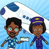 Tizi Town - Meine Flughafenspiele für Mädchen und Jungen, kostenloses Flugzeug für Kinder, um die...