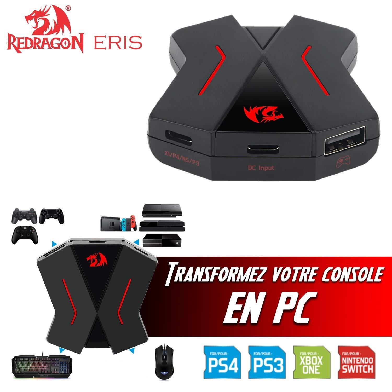 Redragon - Conversor de teclado y ratón para PS4, PS3, Xbox One y Nintendo Switch: Amazon.es: Electrónica