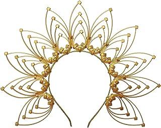 GRACEART Diadema Halo Crown Sunburst Mujeres Partido Accesorio para el Pelo Banda Tiara