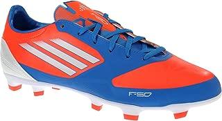 adidas F30 TRX FG Men's Soccer Cleats (11.5, Infrared/Running White/Bright Blue)
