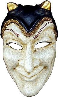 Máscara Veneciana Completa Volto Diavolo para Hombres