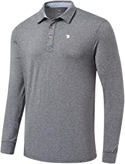 Men's Golf Shirts Polo Shirts Athletic Casual T-Shirt Quick Dry Long Sleeve
