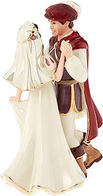 Lenox Snow White and Prince Figurine, 0.45 LB, Ivory