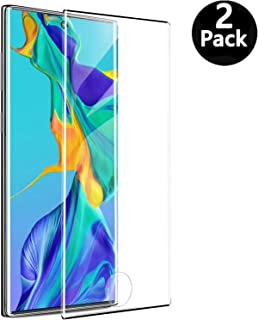 for Samsung Galaxy Note 10 Screen Protector, [Support Fingerprint Unlock] Tempered Glass Screen Protector Compatible with Galaxy Note 10 [2-Pack]