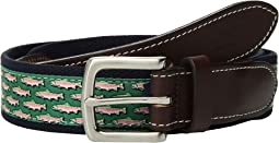 Mini Trout Canvas Club Belt