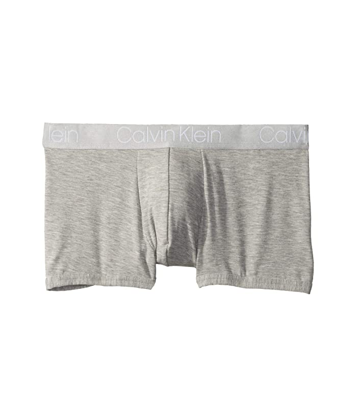 Calvin Klein Underwear  Ultra Soft Modal Trunks (Grey Heather) Mens Underwear