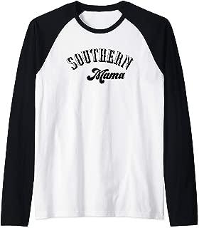 Southern Mama South Living Native Girls Roots Pride Mom Gift Raglan Baseball Tee