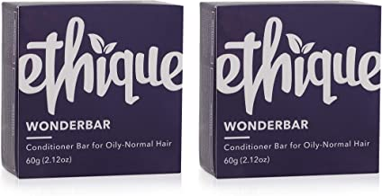 Ethique Wonderbar Eco-Friendly Solid Conditioner Bar - Sustainable Natural Conditioner, Plastic Free, 100% Soap Free, Palm...